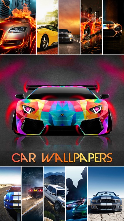 Car Wallpapers & Backgrounds Pro - Pimp Home Screen with Sports, Concept & Classic Cars Photos