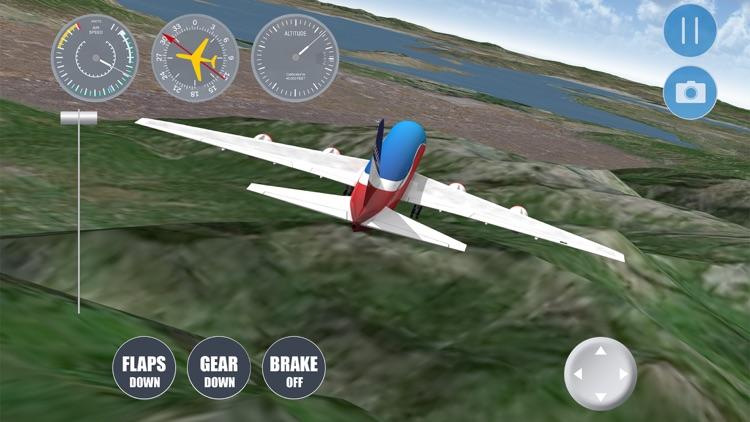Salt Lake City Flight Simulator by Free Flight Simulator Games