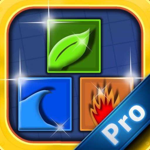 Tiny Blocks Elements PRO - Impossible Match 3 Puzzle icon