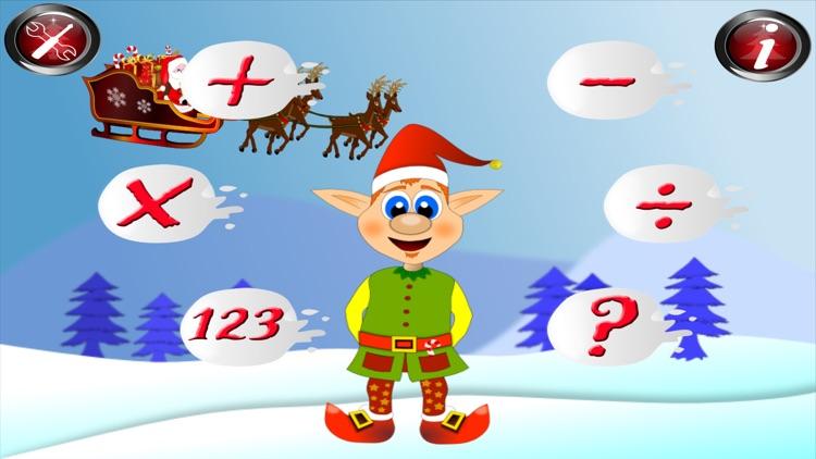 Xmas Math Santa Claus for kids