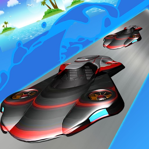 Air Car Frontier - Sky Police Metal Race icon