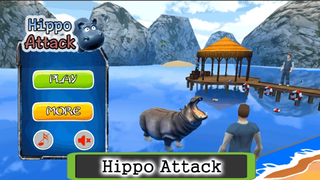 Hungry Hippo Attack Hippopotamus Evolution Games on the App