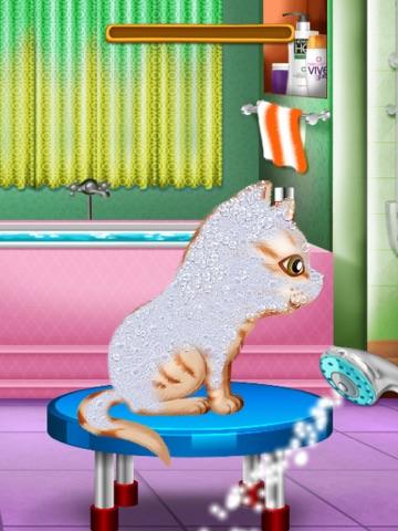 Скачать мыть и лечить домашних животных : помочь кошек и щенков !