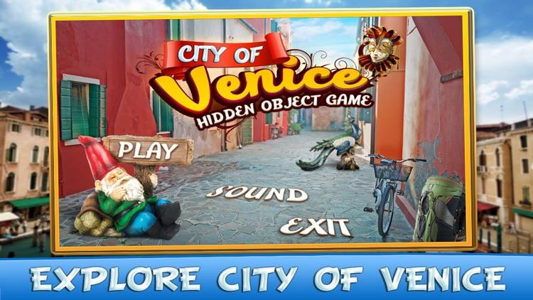 City of Venice Hidden Object Games