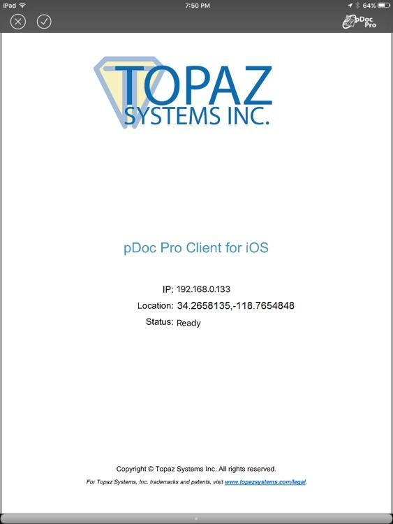 pDoc Pro Client