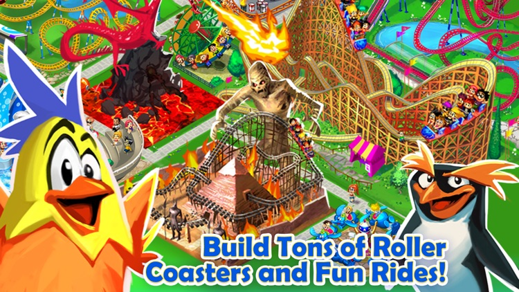 Happy Park™ - Best Theme Park Game for Facebook and Twitter screenshot-2