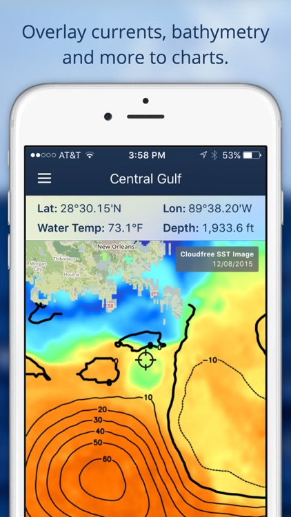 FishTrack - Offshore Fishing Charts and Tools screenshot-4
