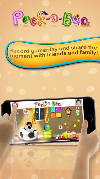 Peekaboo I see You – Educating discovery playground for preschooler baby to Kids screenshot-3