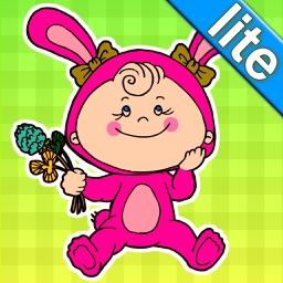 Quel est l'intrus 2 LITE? Jeux de développement pour bambins et enfants: les premiers mots et images