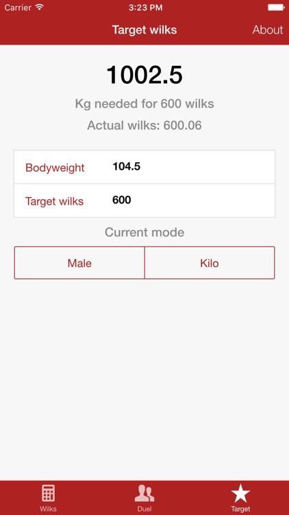 Wilks Calculator Powerlifting screenshot-3