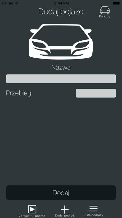 Ewidencja Pojazdów screenshot one