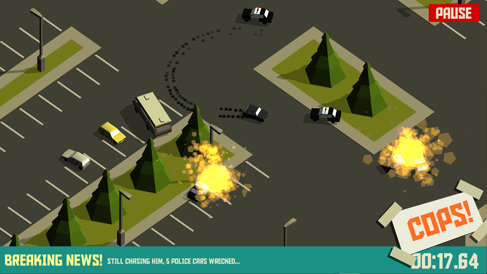 PAKO - Car Chase Simulator screenshot 11