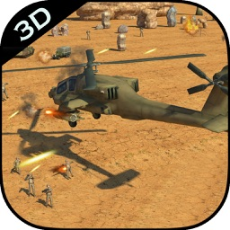 Helicopter War: Enemy Base