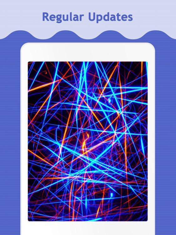 Neon Wallpapers for iPad screenshot-4