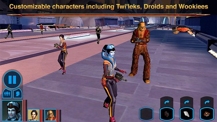 Star Wars®: Knights of the Old Republic™ screenshot-3