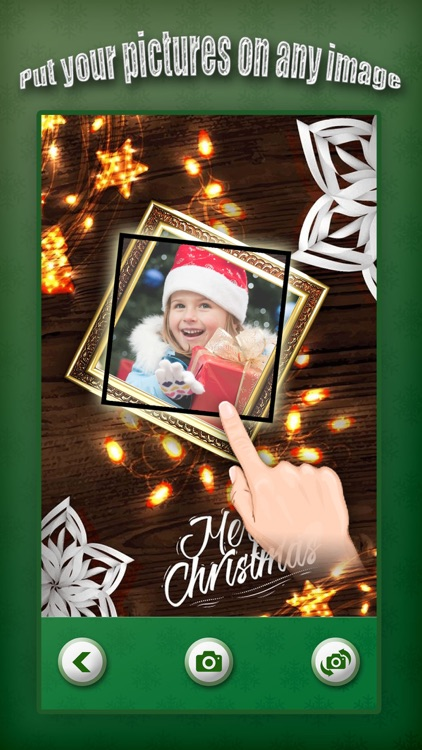 Christmas Photo Collage & Cards Maker - Mail Thank You & Send Wishes with Greeting Quotes Stickers screenshot-3
