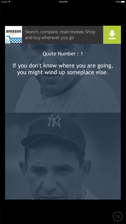 Quotes for Life - Yogi Berra edition screenshot-0
