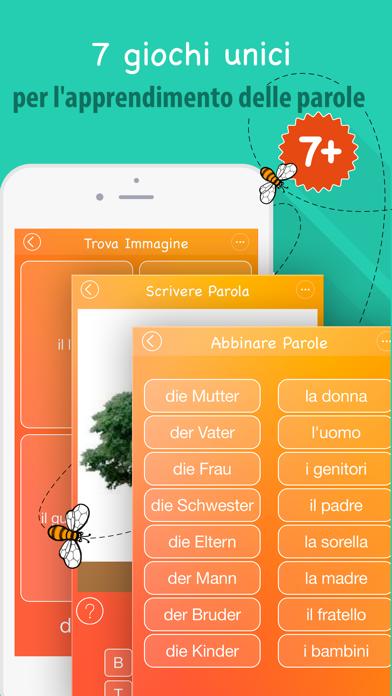 Screenshot of 6000 Parole - Impara Vocabolario Tedesco Gratis4