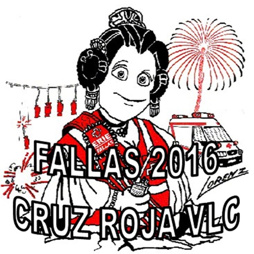 FALLAS 2016 Cruz Roja Valencia icon