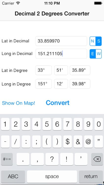 LatLong for GPS Coordinates Converter | Coordinate on map