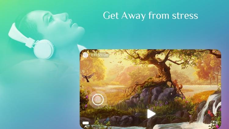 Away ~ Meditation & mindfulness to sleep, relax, focus, breathe screenshot-0