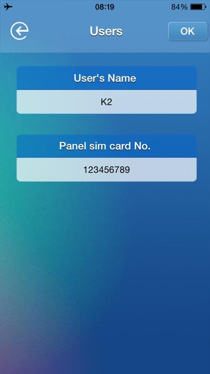 Nemaxx K2 Alarm system screenshot-3