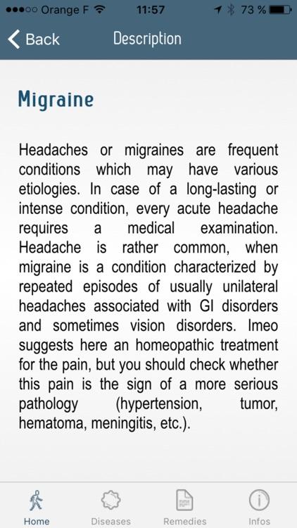 Iméo –The guide to homeopathy screenshot-3