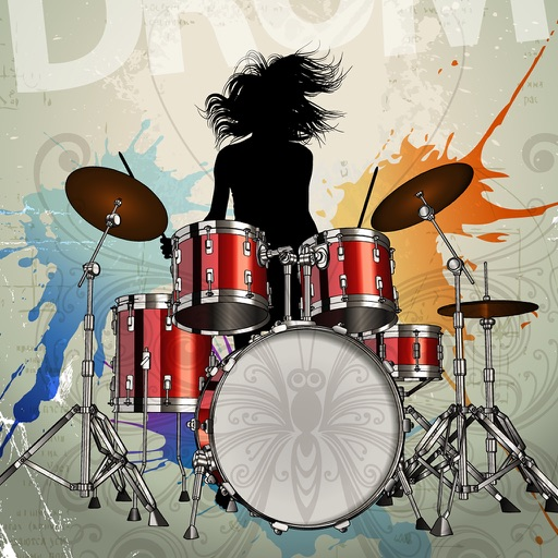 Real Drums : Free drum set