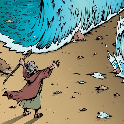 モーセの海割り