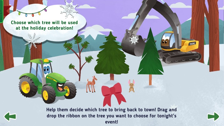 Johnny Tractor and Friends: Snow Day screenshot-3