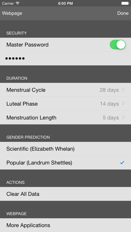 Period & Ovulation Tracker screenshot-4