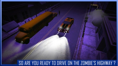 Zombie highway Traffic rider – Best car racing and apocalypse run experience screenshot one