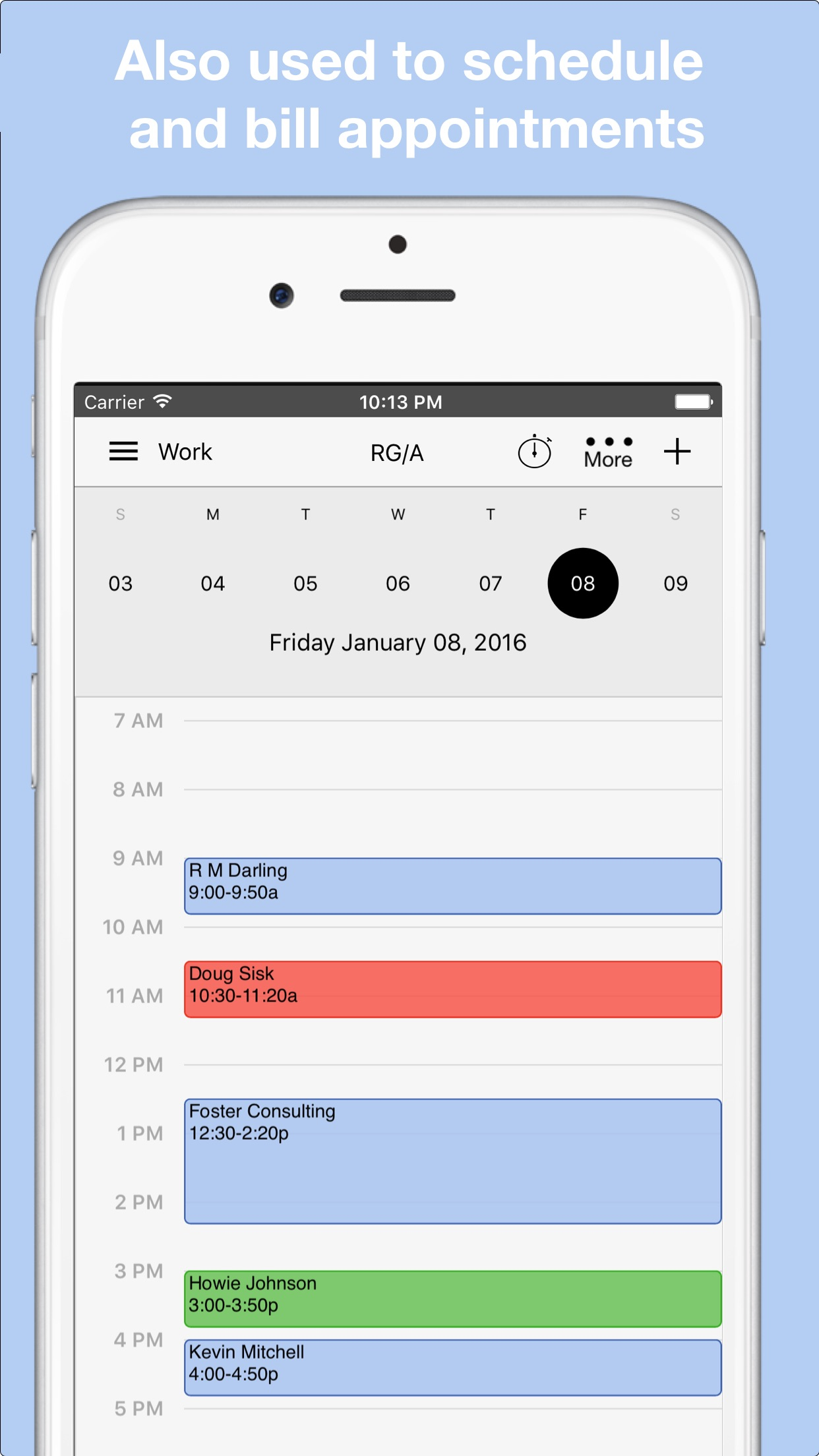 Workbox Invoicing Screenshot