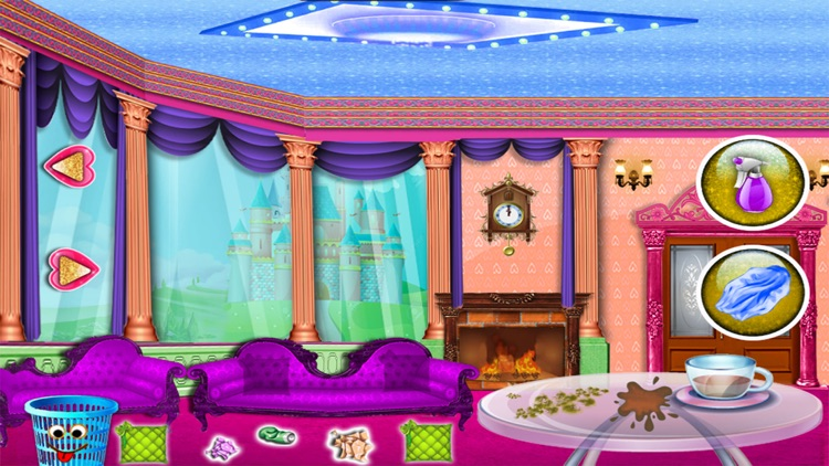 Princess Baby Room Cleaning Games For Girls By Tmdgames Simple Baby Room Cleaning Games