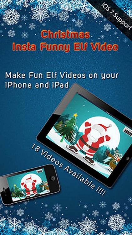 Christmas Insta Funny Elf Video - Make Fun Dancing Holiday Videos with Friends Pics