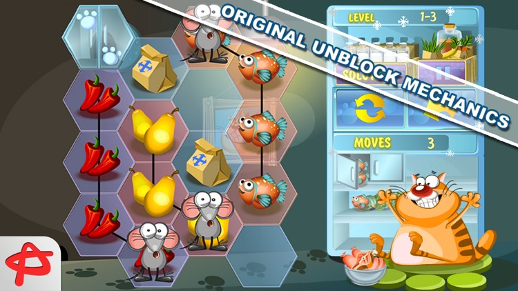 Steal the Meal: Free Unblock Puzzle screenshot-0
