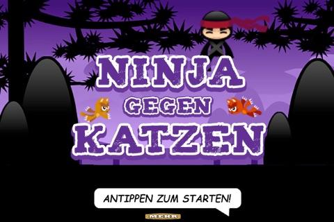Ninja Gegen Katzen Abenteuer - náhled