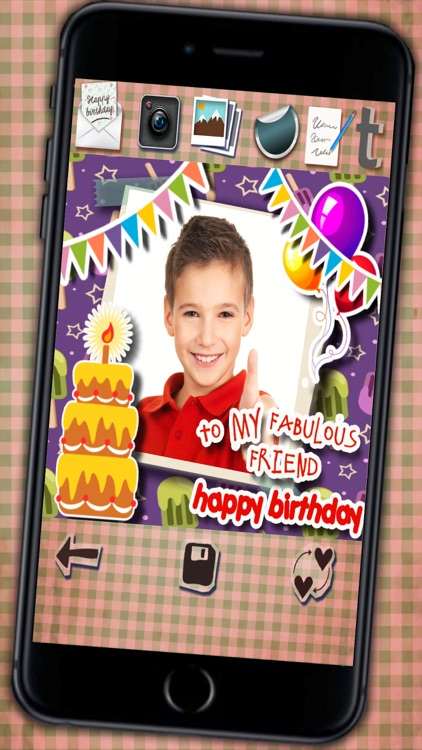 Create happy birthday greetings