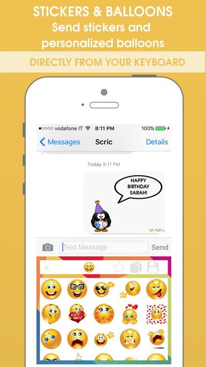What2Share - Share Emoji, Gif and Meme from your Keyboard! screenshot-3