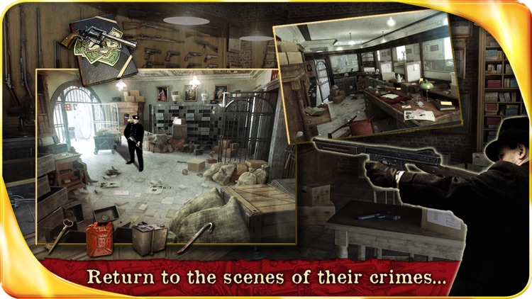Public Enemies : Bonnie & Clyde – Extended Edition - A Hidden Object Adventure screenshot-3