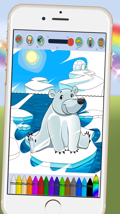 Paint animal - coloring book for kids screenshot-4