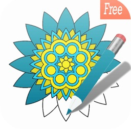 best mandala coloring book:free adult colors therapy stress relieving pages