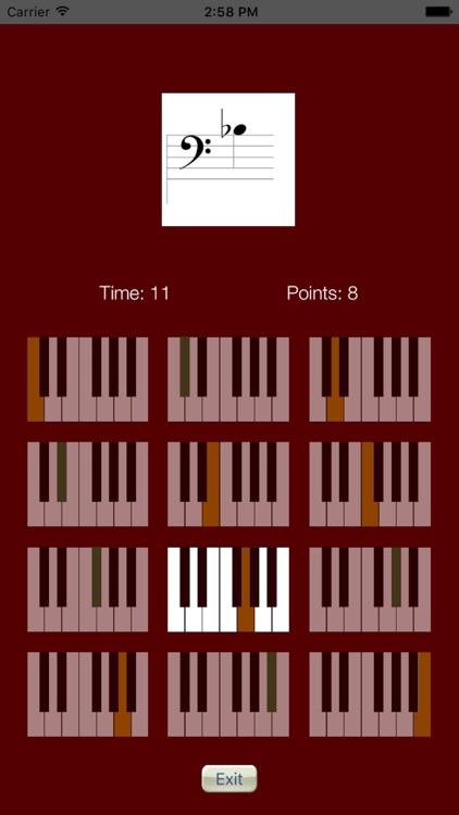 Sheet Music Trainer Piano Bass screenshot-4