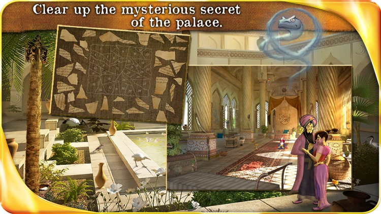 Aladin and the Enchanted Lamp - Extended Edition - A Hidden Object Adventure screenshot-4
