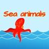 Sea Animals Theme Puzzle Game & Spell Checker