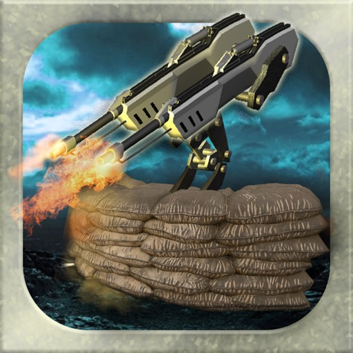 3D Bunker Warfare -  Military Turret Defense Shooter Games FREE