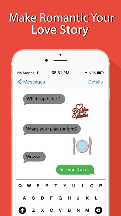 Valentine's Day Emojis screenshot-3