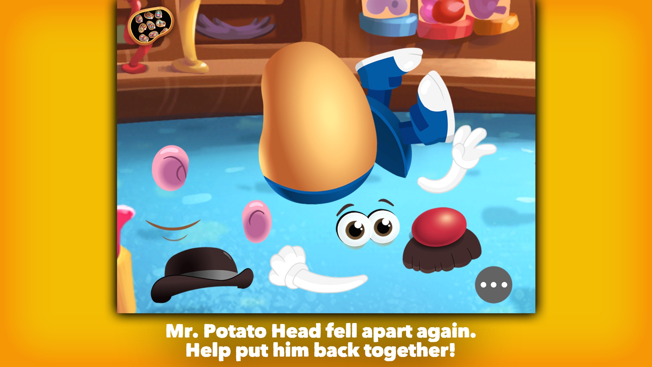 Mr. Potato Head: School Rush Screenshot
