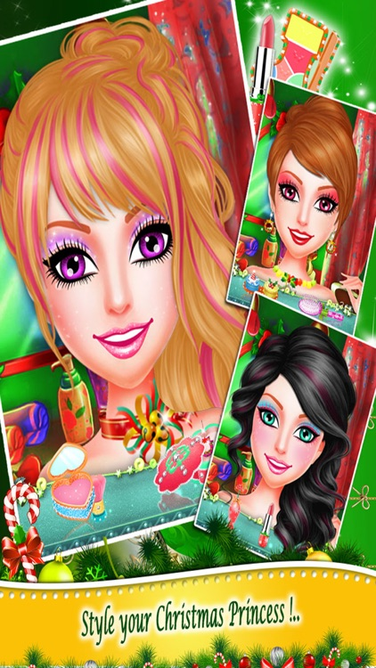 Christmas Princess Makeup Salon screenshot-3