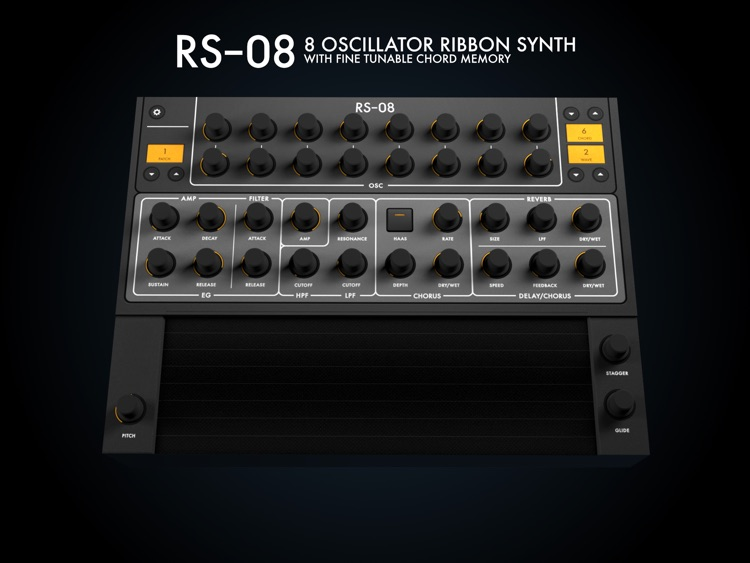 RS-08 | 8 Oscillator Ribbon Synth